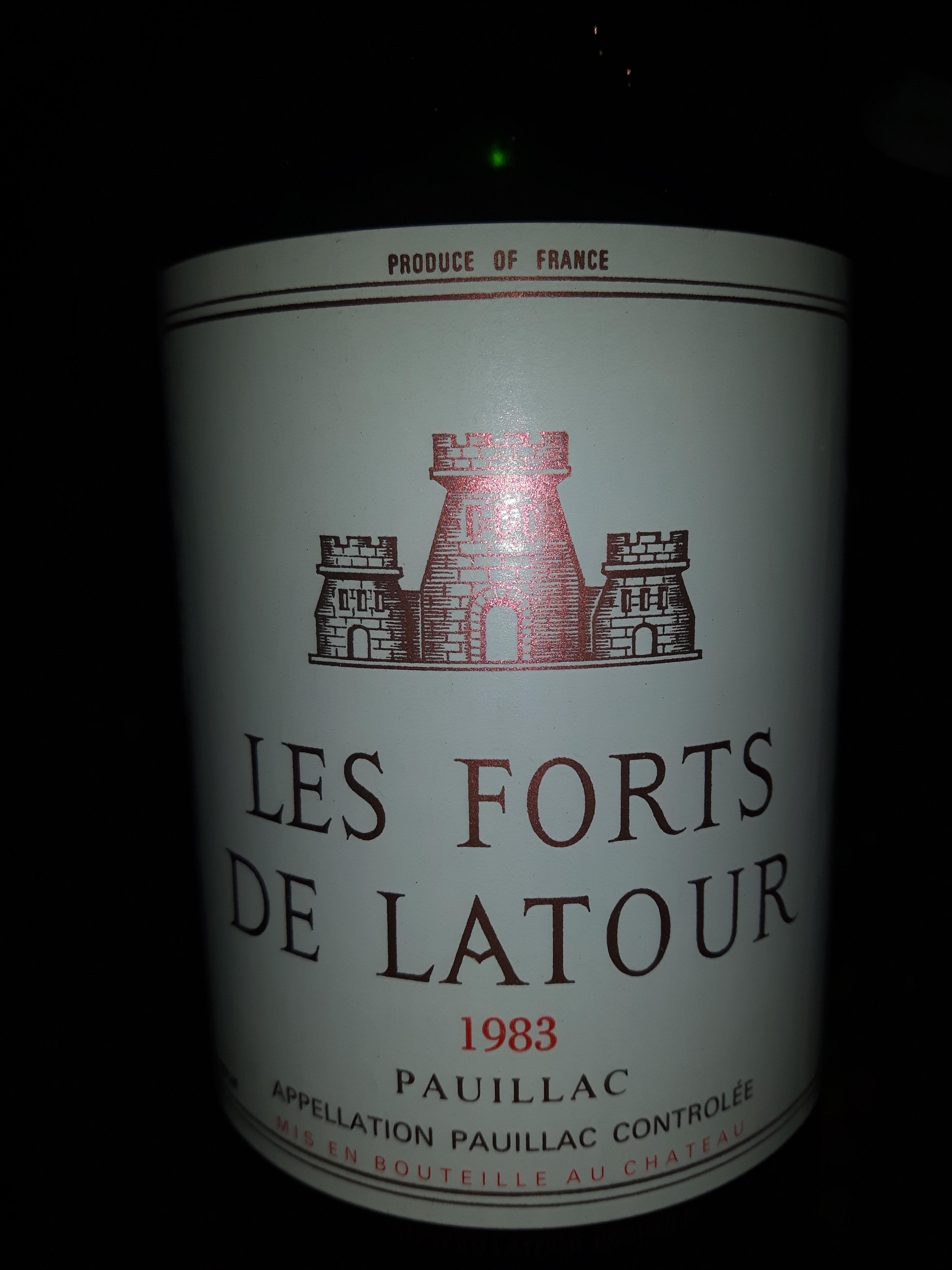 Latour Pauillac 1983