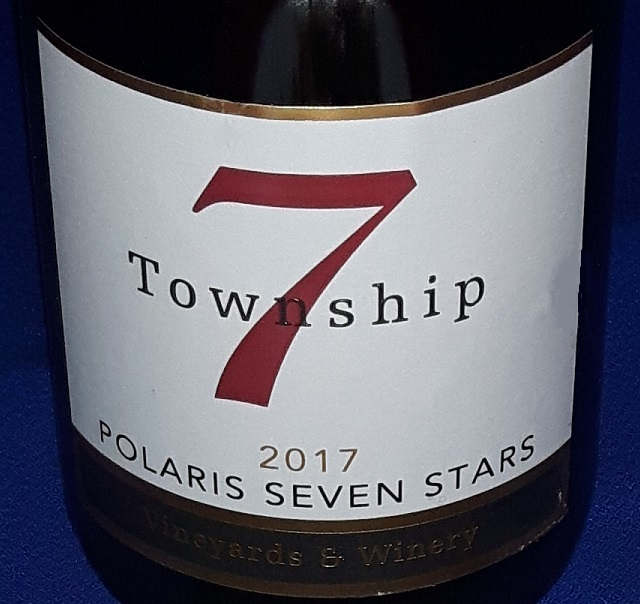 Township 7 Polaris Seven Stars 2017 label shot